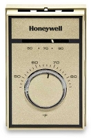 T651A3018 Honeywell Heat-Cool Line Voltage Thermostat