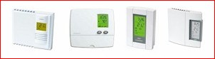 Digital Low Voltage Non Programmable Thermostats