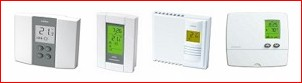 Digital Line Voltage Non Programmable Thermostats