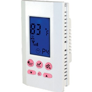 King ATMOZ2-240-WIFI Programmable Single Pole Line Voltage Thermostat - 208/240 VAC - 16 Amps