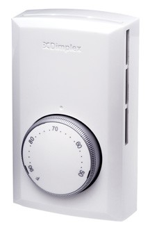 Dimplex Electromode TD522W Double Pole Line Voltage Thermosta