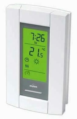 TH115-AF-GA Honeywell Aube Floor Sensing Line Voltage Thermostat with 5 mA GFCI Protection